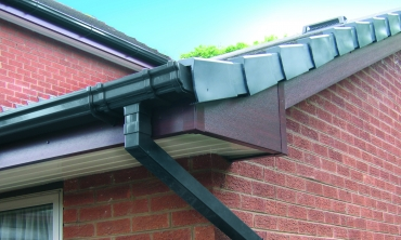 Anthracite Grey uPVC Guttering