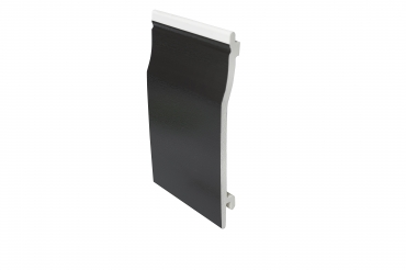 Black uPVC Wall Cladding